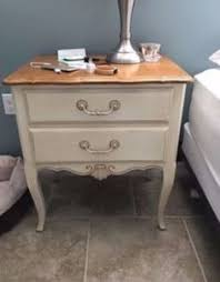pair ethan allen country french nightstand side table 26 5226