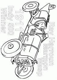 coloriage voiture de course en ligne