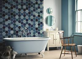 bright bathroom interior with clean refreshingly bright bathroom ideas with colorful decorations