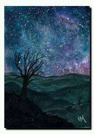 aceo cards for sale aceo original ooak sky landscape trees dreams