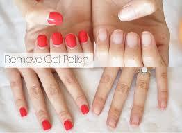 how to remove gel nail polish at home no damage alexandrea