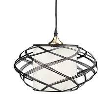 Cage Pendant Light Cresto Wire Cage Pendant L 8431761 Hsn