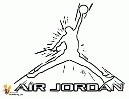 michael jordan coloring pages free coloring home