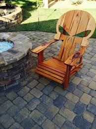 Skull Adirondack Chair Wooden Skull Lawn Chair Home Chair Decoration