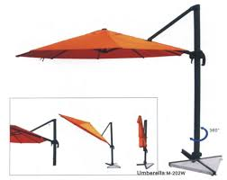 Cantilever Patio Umbrella With Base Patio Umbrellas Free Home Decor Techhungry Us