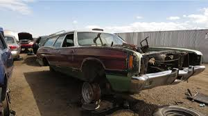 Vintage Ford Truck Junk Yards - junkyard treasure 1972 ford ltd country squire station wagon