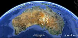 Earth Maps Australia Map