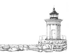 bug light sketch painting by dominic white