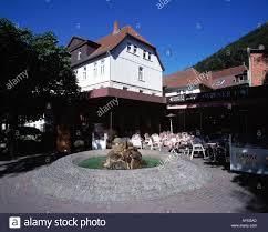 Cafe Peters Bad Harzburg Fussgaengerzone Herzog Wilhelm Straße Im Kurviertel Hotel Wiener