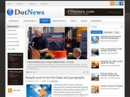 dotnews download template wordpress gratis format news magazine