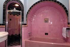 retro pink bathroom ideas gladding mcbean tiles sentimental artifacts of revival