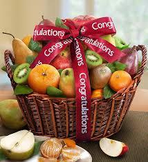 fruit flowers baskets orchard congratulations fruit gift basket