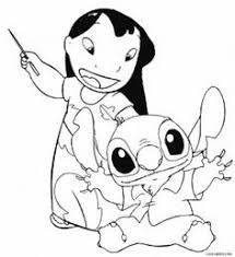 printable lilo stitch coloring pages kids cool2bkids
