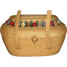1930 u0027s bag by josef wicker handbag bag summer bags and vintage
