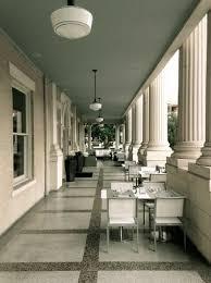 the front porch set up for brunch picture of hotel ella austin