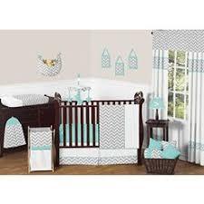 Circo Owl Crib Bedding Circo Sweet Chevron 4pc Baby Bedding Set