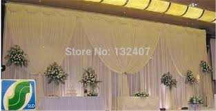 wedding backdrop online wedding backdrop decorations silk fabric curtain for wedding
