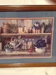 home interior framed vintage large 1978 the silent buck deer framed picture home