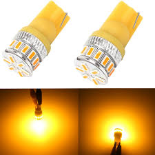 Led Light Bulbs For Travel Trailers by Amazon Com Alla Lighting Amber Yellow 194 168 2825 175 192 W5w