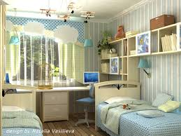 Cool Study Desk Design Ideas In Kids Bedrooms Home Design And - Desk in bedroom ideas