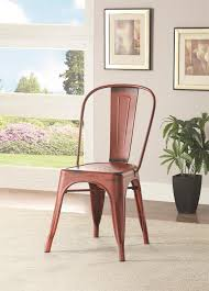 Stackable Dining Room Chairs Dining Room Interesting Distressed Metal Indoor Stackable Chair