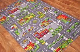 Large Kids Rug Road Map Rugs Rugs Ideas