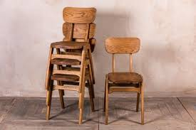 stacking wooden chairs ben style cafe restaurant chair