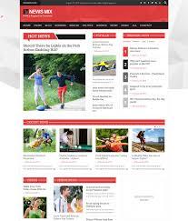 15 responsive magazine website templates