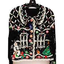 vintage michael simon designer sweater gingerbread