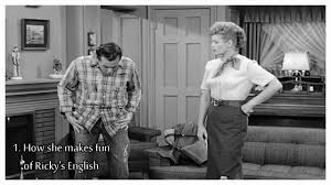 Lucille Ball I Love Lucy Lucille Ball 5 Reasons Why We Love Lucy Ricky U0027s English 1