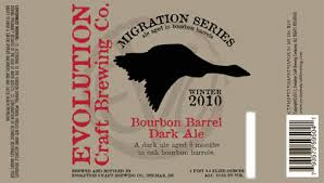 Evolution Bourbon Barrel Dark Ale due out this month | BeerPulse