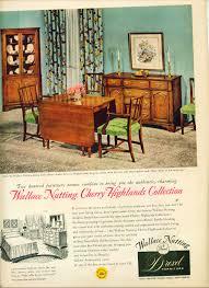 1953 drexel furniture ad wallace nutting cher drexel henredon