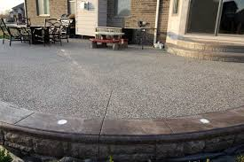 Images Of Concrete Patios Biondo Cement Stamped Concrete Exposed Aggregate Concrete