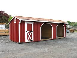 run in sheds horse shed design u0026 shed plans