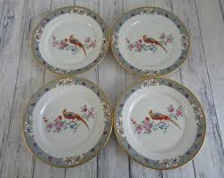 antique china pattern vintage bird pattern china etsy