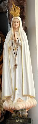 robe de la mã re de la mariã e en octubre la estatua de nuestra señora de fátima viajará a