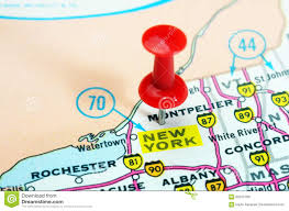 New York Map Rochester by New York State Usa Map Stock Photo Image 62015769
