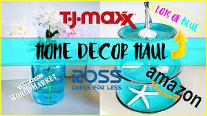 tjmaxx ross world market amazon home decor haul 5 july 2017