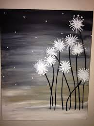 black and white painting ideas 19 easy canvas painting ideas to take on homesthetics