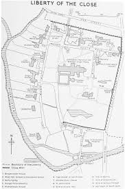 Salisbury Cathedral Floor Plan by Salisbury The Liberty Of The Close British History Online