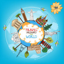 how to travel the world for free images World travelling elements creative vector set free vector in jpg