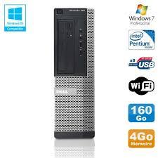 pc bureau windows 7 pas cher unite centrale wifi prix pas cher cdiscount