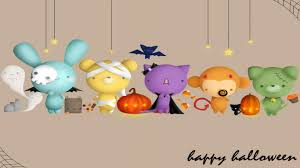 free cute halloween background halloween wallpaper that are cute