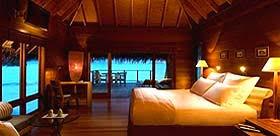 chambre sur pilotis maldives magazine du tourisme hôtels conrad maldives rangali island
