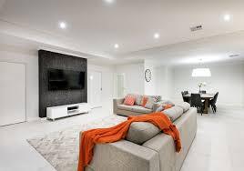 barbaro homes home builder modern living room builder