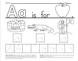 6 best images of free printable alphabet worksheets free