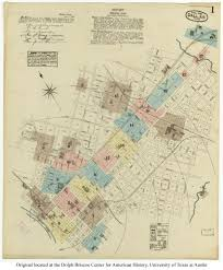 Map Of Dallas Area Sanborn Maps Of Texas Perry Castañeda Map Collection Ut