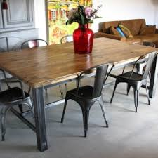 Tolix Dining Table Dining Table And Tolix Chairs By Littlejo Chairs Pinterest