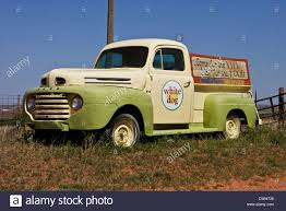 Vintage Ford Truck Commercials - usa oklahoma route 66 white oak old cars in wrecker s yard beside