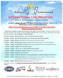 international children u0027s day events